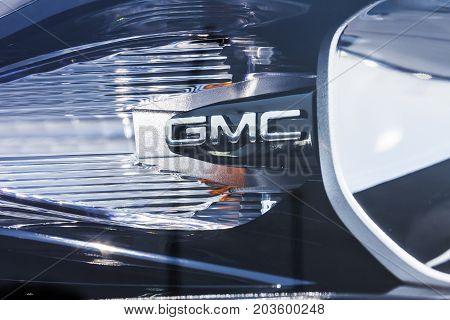 Kokomo - Circa September 2017: GMC and Buick Truck and SUV dealership. GMC and Buick are divisions of GM IV
