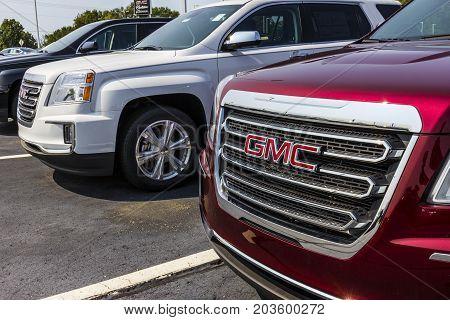 Kokomo - Circa September 2017: GMC and Buick Truck and SUV dealership. GMC and Buick are divisions of GM V