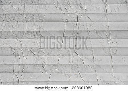 white crumpled paper decorative as a background and text space