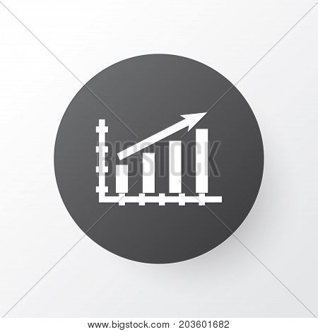 Premium Quality Isolated Growing Element In Trendy Style.  Growth Icon Symbol.