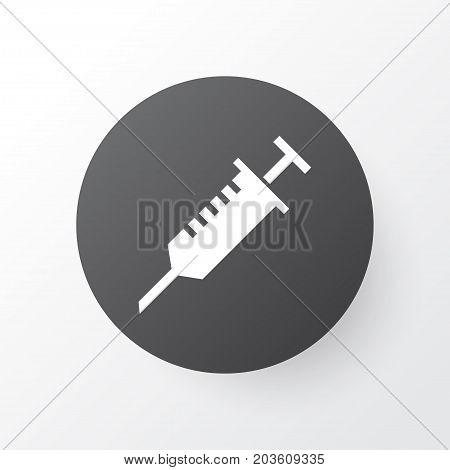 Premium Quality Isolated Peck Element In Trendy Style.  Stings Icon Symbol.