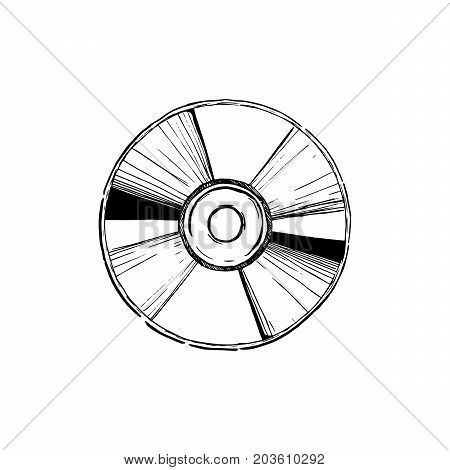 Illustration Of Compact Disc