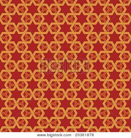 stijlvolle geometrische sieraad, naadloze vectorillustratie