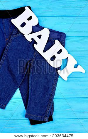 Baby jean attire on sale. Collection of denim apparel for infant kids. Shop online high quality jeans for child.