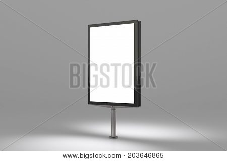 Blank Advertisement Banner