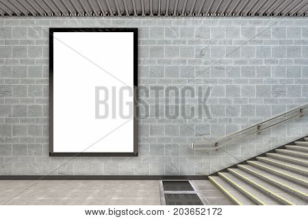 Blank Advertising Billboard Poster