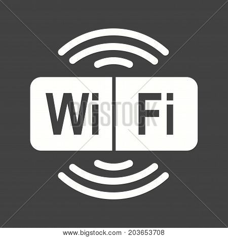 Airport, wifi, mobile icon vector image. Can also be used for airport. Suitable for mobile apps, web apps and print media.