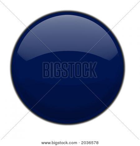 Plastic Orb Blue
