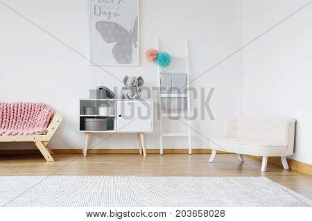 Designed Pastel Room