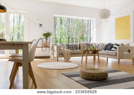Dining Table In Multifunctional Room