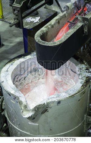 Factory Shop For Metal Smelting