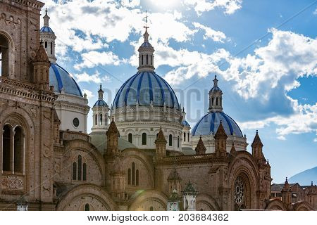 Church Domes In Cuenca