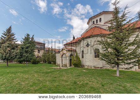 Medieval Church in Arapovo Monastery of Saint Nedelya, Plovdiv Region,  Bulgaria