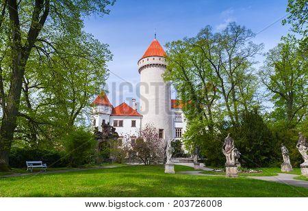 Konopiste Castle. It Was Established In The 1280S