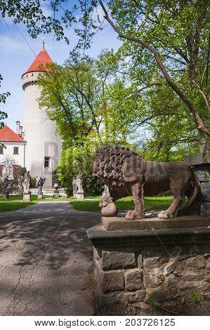 Park Near Konopiste Castle, Czech Republic
