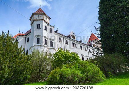 Facade Of Konopiste Castle, Czech Republic
