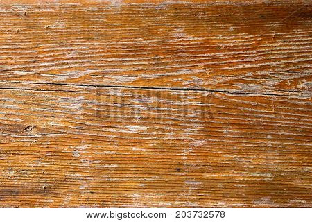 Background of a brown weathered wooden board