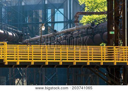 Lower region of Vitkovice - old ironworks factory