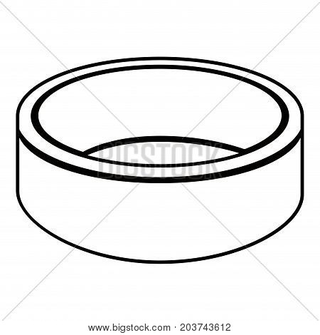 Isolated Ring Outline