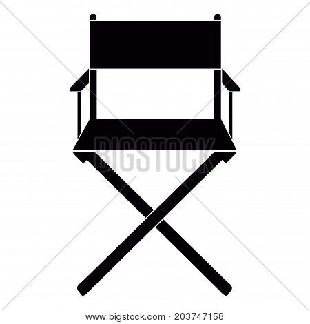 Isolated Director Chair