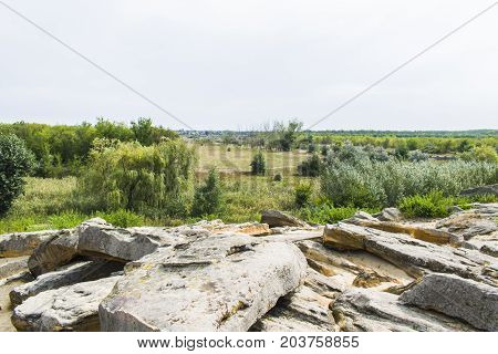 View From A Stone Grave To The Steppe