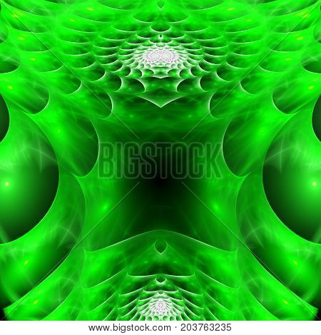 Armored protective shell. Plasma field. 3D surreal illustration. Sacred geometry. Mysterious psychedelic relaxation pattern. Fractal abstract texture. Digital artwork graphic astrology magic