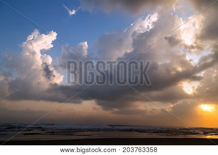Hurricane Irma catastrophic storm Nature composition cloudscape