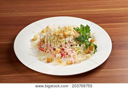 Romaine Salad Leaf