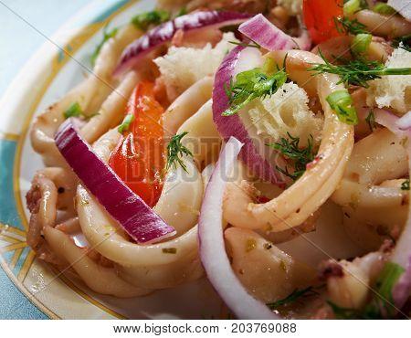 Calamari In Padella