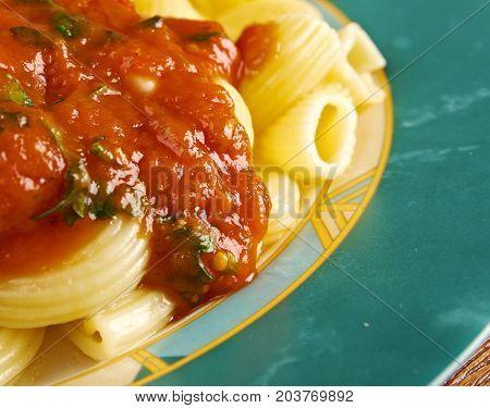 Italian Pasta Pipe Rigate