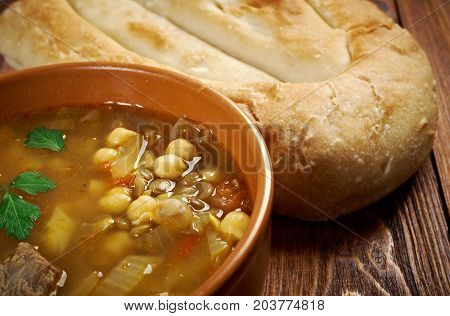 Moroccan Traditional Soup - Harira