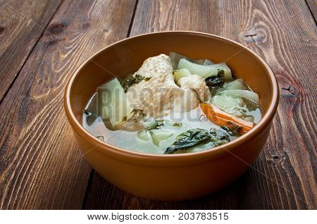 Russian National Cabbage Soup