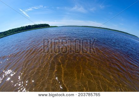 Pinyega Estuary.