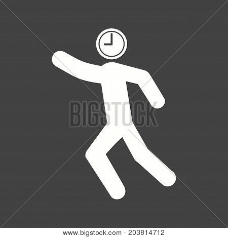 Watch, time, punctual icon vector image. Can also be used for Personality Traits. Suitable for web apps, mobile apps and print media.
