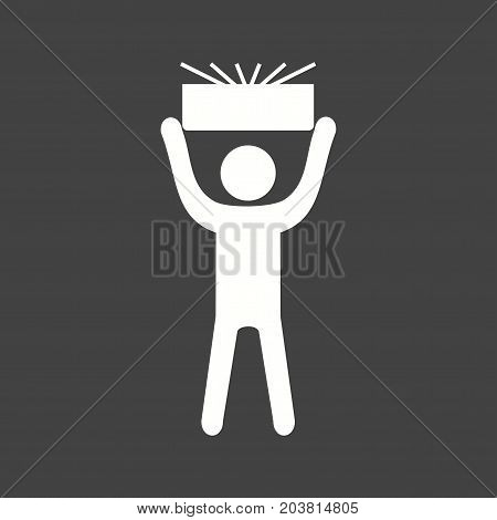 Reliable, trust, people icon vector image. Can also be used for Personality Traits. Suitable for web apps, mobile apps and print media.