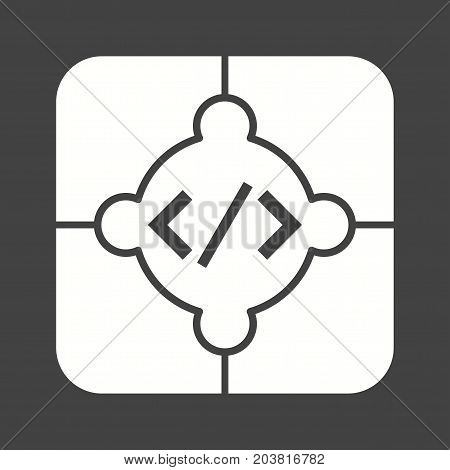 Data, analytics, system icon vector image. Can also be used for Data Analytics. Suitable for web apps, mobile apps and print media.