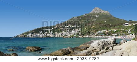 FROM CLIFTON, CAPE TOWN, SOUTH AFRICA ON A CLEAR SUMMER DAY 42jj