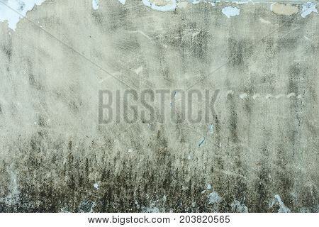 The art concrete or stone texture for background in black, grey and white colors.
