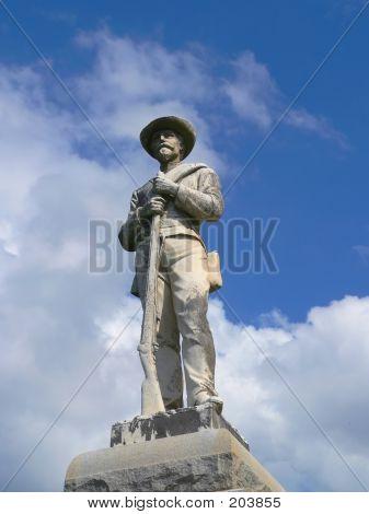 Cival War Statue