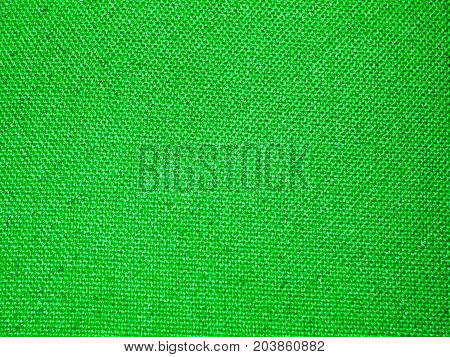 Green Seat Surface Fabric Texture Background Cloth