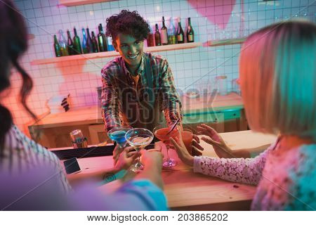 African American Barman