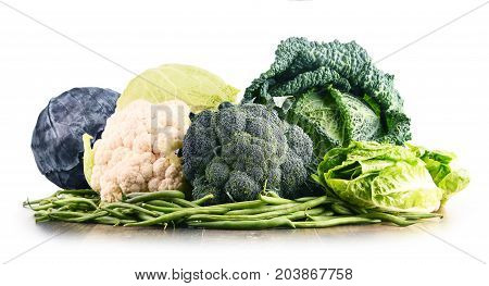 Composition With Raw Organic Vegetables.