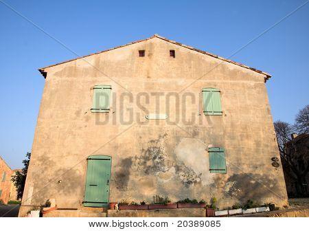 ,ilitary barracks in the Fort de L'Ile Sainte-Marguerite, Cannes, France