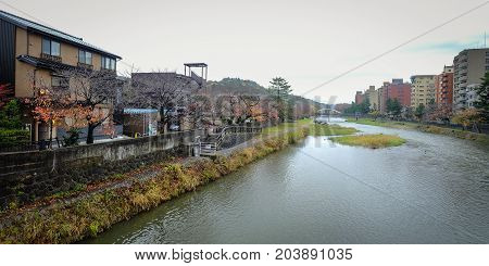 Cityscape Of Kyoto, Japan