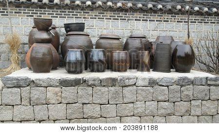 antique pottery Korean folk wisdom and culture