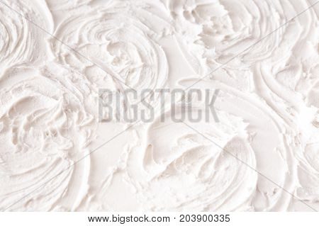 White wall with plaster pattern background. Textured backdrop, bas-relief. House repair, interior design concept
