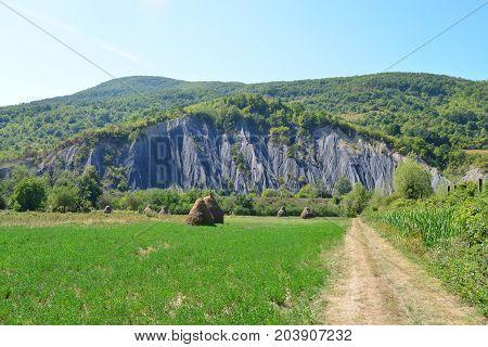 Mehadia Romania Black Ravine monument of nature landmark