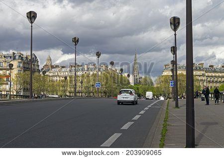 Alma Bridge In Paris