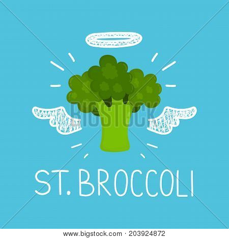 Heaven broccoli concept