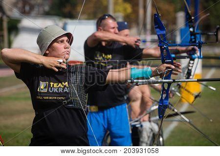 Invictus Games - Training Of The National Ukrainian Team
